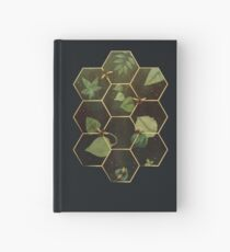 Bees in Space Hardcover Journal