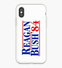 Reagan Bush 84 iPhone Case