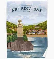 Life is Strange - Arcadia Bay Travel Poster (Day) Poster