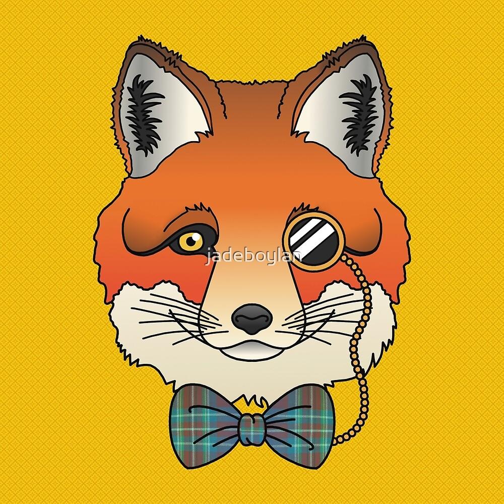 Dapper Fox by jadeboylan