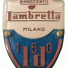 Lambretta badge by JohnLowerson