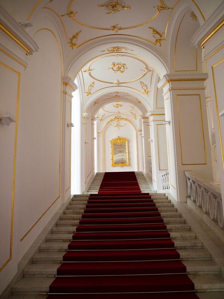 Bratislava Castle Stairs by Rae Tucker