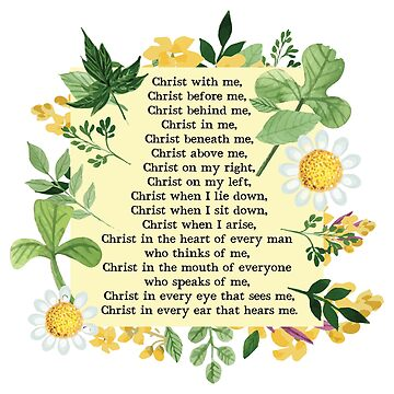 St. Patrick's Breastplate Prayer by HappyCatholics