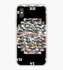 circuit, coterie, circlet, section, roundel, balloon, annulus, collar, race, hoop iPhone Case