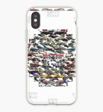 Emblem, insignia, symbol, annulus, collar, race, hoop iPhone Case
