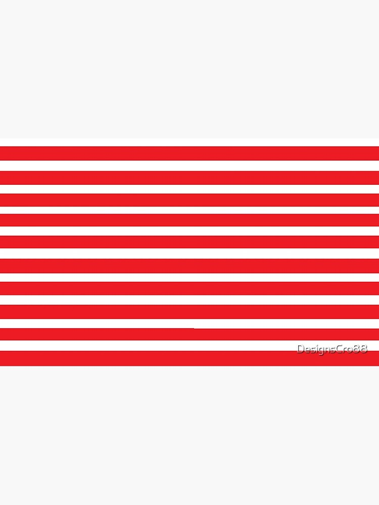 Red and white stripes by DesignsCro88