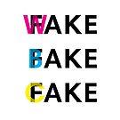 Fake, Wake and Bake a Cake by Orce Vasilev