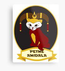 Petme Amidala Metal Print