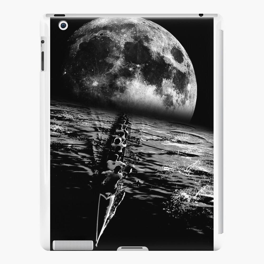 Paddeln auf einer Mondnacht iPad-Hüllen & Klebefolien