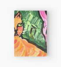Peachy the Cat Hardcover Journal