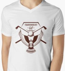Tournament Men's V-Neck T-Shirt