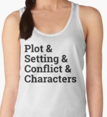 The Writer Life Women's Tank Top