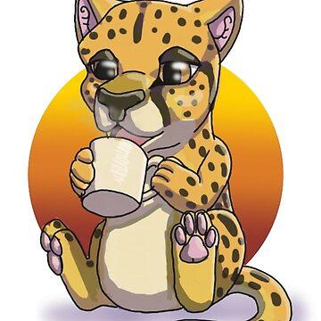 Cheetah by Bamsdrawz