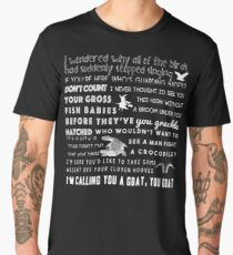 Holt insults. Men's Premium T-Shirt