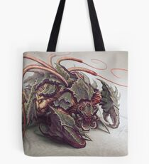 Red Whip Thresher Tote Bag