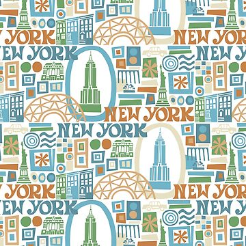 New York, New York - cool graphic design by challisandroos