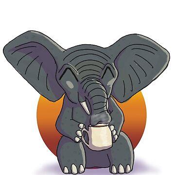 Elephant by Bamsdrawz