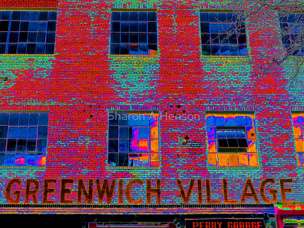 GREENWICH VILLAGE, NYC by Sharon A. Henson