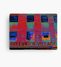 GREENWICH VILLAGE, NYC Canvas Print