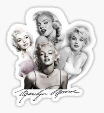 Marylin Monroe Sticker
