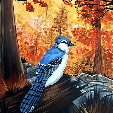 Blue Jay Life by Adamzworld