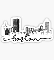 Boston Skyline Sticker