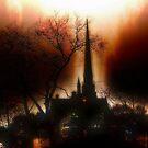 Burning Church by TLWhite