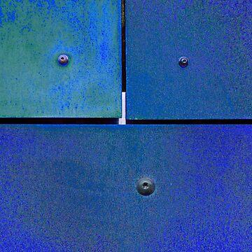 4 5 6 Colorful Rust Blue by MenegaSabidussi