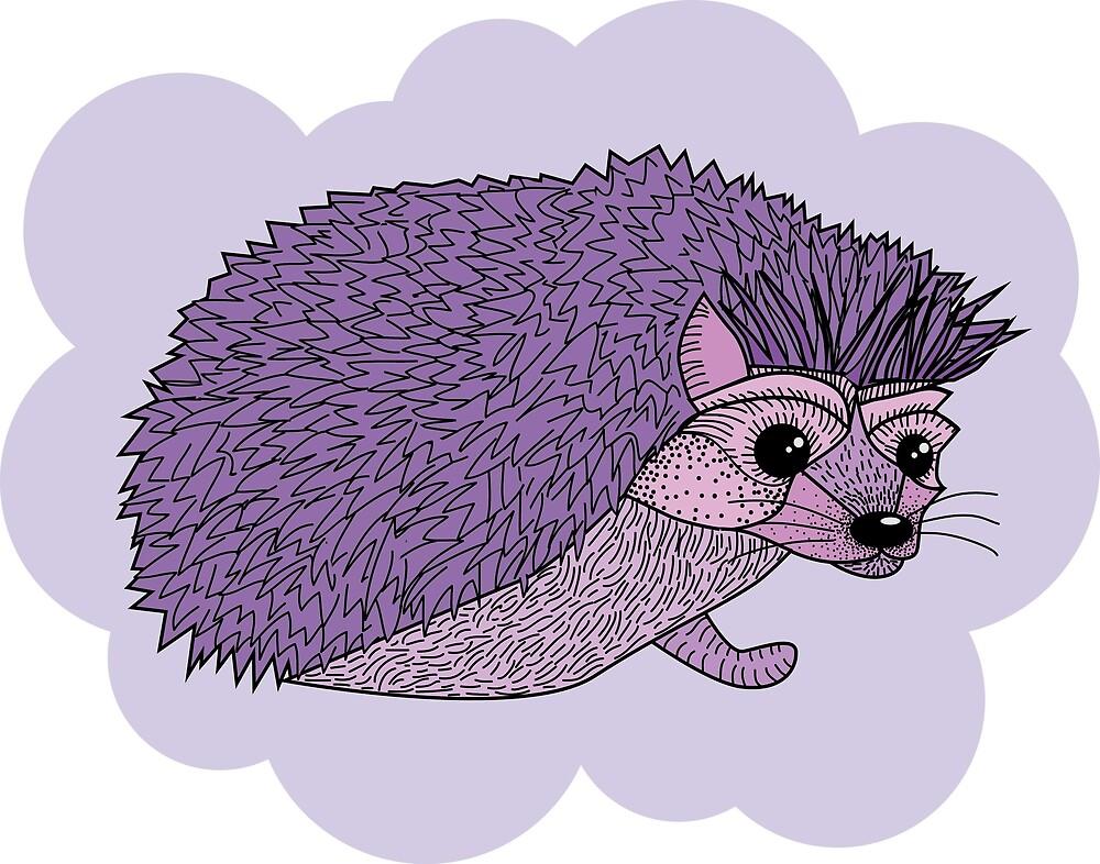 Fabulous hedgehog by Sydney Koffler