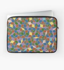 Stained Glass Penrose Tiling Laptop Sleeve