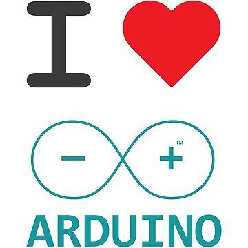 I Love Arduino by mandelbrotset
