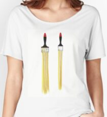 Hair brush? Women's Relaxed Fit T-Shirt