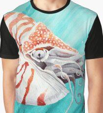 Chambered nautilus Graphic T-Shirt