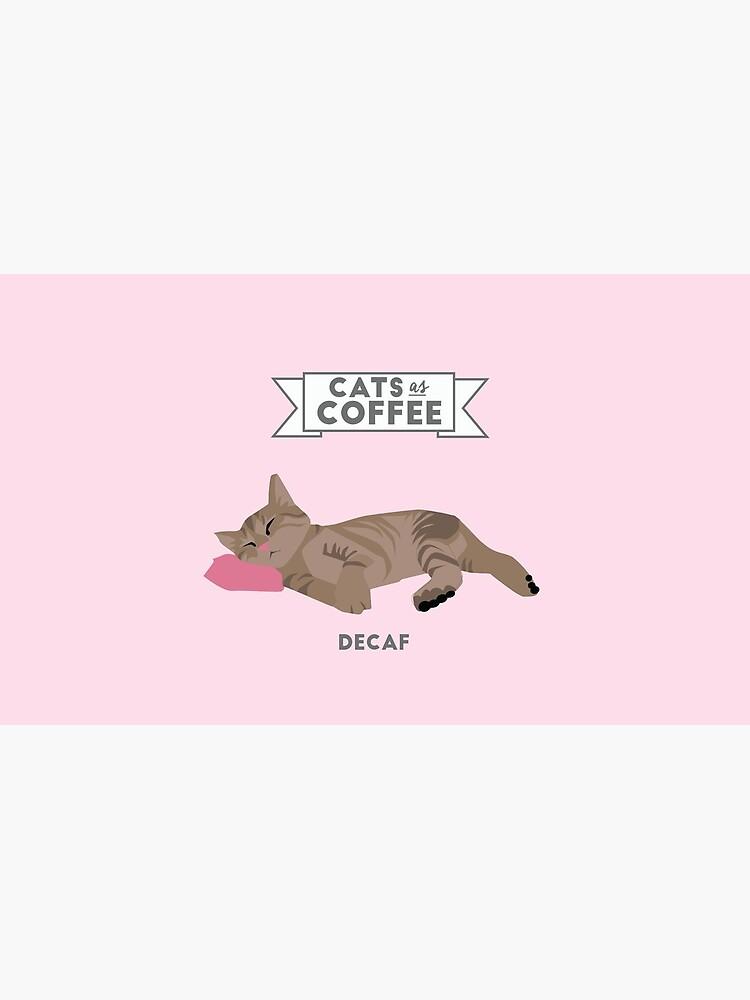 Gatos como café: Decaf de SydneyKoffler