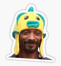 snoop fish Sticker