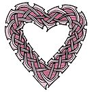 Celtic Knotwork Heart by Carrie Dennison