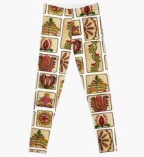 Ukrainian Mahjong Leggings