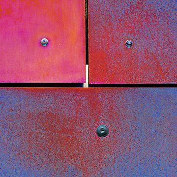 7 8 9 Colorful Rust Magenta Blue by MenegaSabidussi