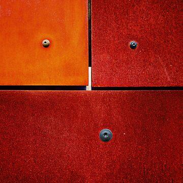 1 2 3 Colorful Rust Red by MenegaSabidussi
