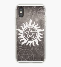 Vinilo o funda para iPhone Phonecase supernatural e impresión