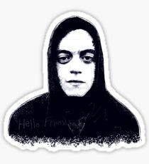 Hello Friend. Sticker