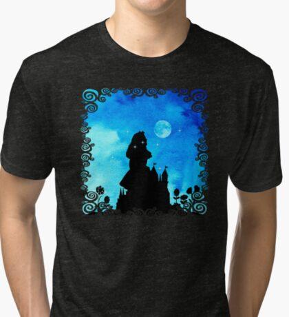 Alicia en el país de las maravillas - Magical Watercolor Night Camiseta de tejido mixto