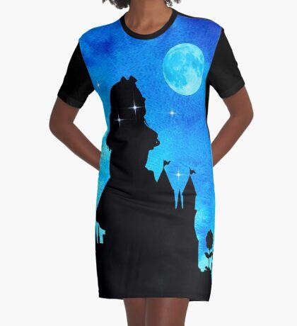 Alicia en el país de las maravillas - Magical Watercolor Night Vestido camiseta