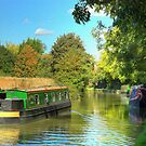 Narrowboat 'Bolt Hole' - Oxford Canal by SimplyScene