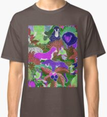 Wild animals in the jungle Classic T-Shirt