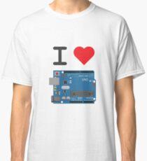 I Love Arduino Classic T-Shirt