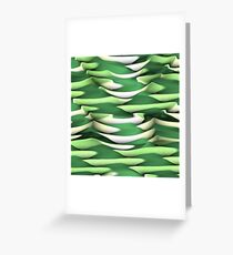 Layer after Layer Abstract Greeting Card
