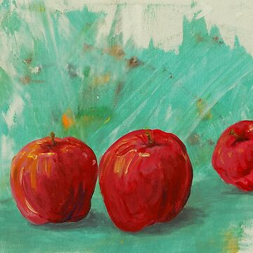 tasty red apples by creativecurran