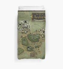 Arelith Map Duvet Cover
