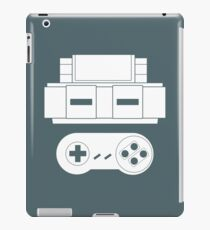 Let's Play SNES (White iPad Case/Skin
